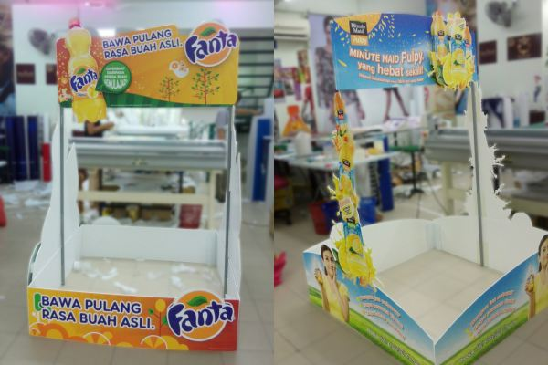 Products Promotion Standee