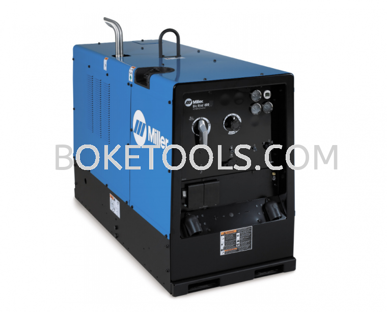 MILLER BIG BLUE 500X WELDING GENERATOR (/RENTAL) WELDING MACHINE
