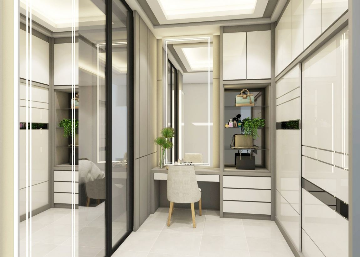 Wardrobe & Dessing Table 3D Design Refer 家居3D设计 3D设计图