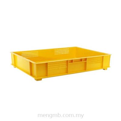 Stackable Food Tray with Holes