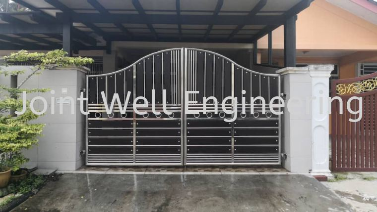 S Shape Top Head Gate S Shape Top Head Gate Stainless Steel Main Gate