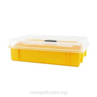 Stackable Food Tray with Cover