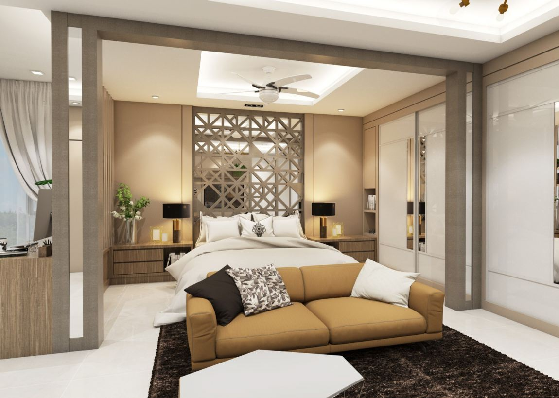 China Style Room  3D Design Drawing Bedroom 3D Design Drawing