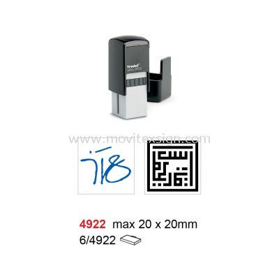 Personal Signature Rubber Stamp 4922