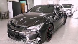 | Toyota Mark X STE Coating |  Mark X Black protect with our STE Coating. (VIDEO)