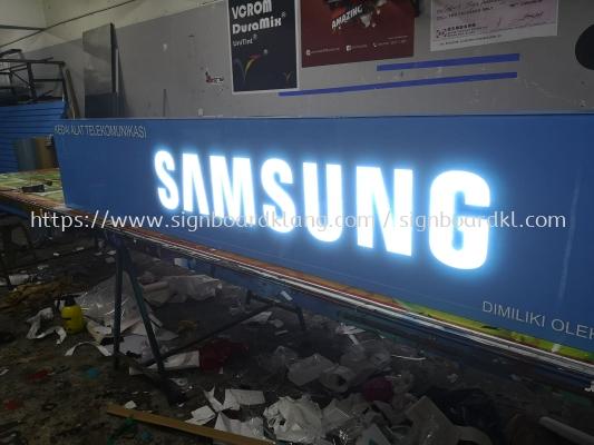 Samsung Special indoor light box at up town petaling jaya Kuala Lumpur