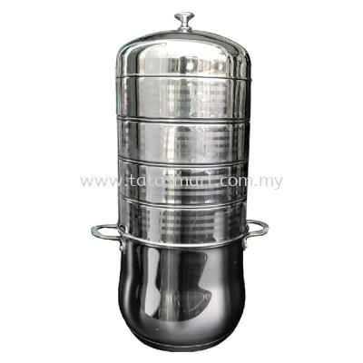 7 Layer Stainless Steel Steamer