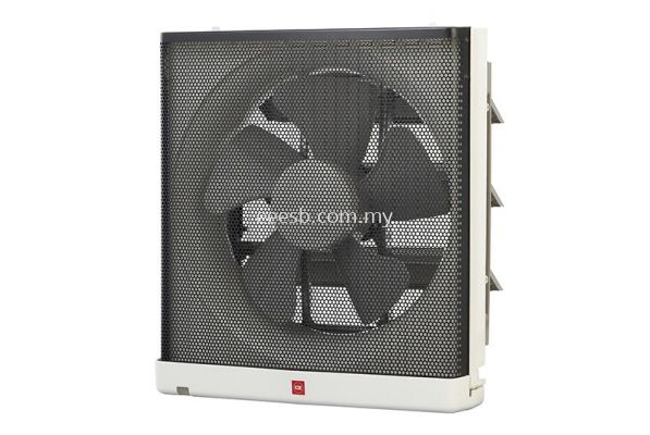 KDK 25AUFA Raku-Raku Wall Mounted Ventilating Fan 25cm/10""