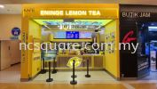 Eninge Lemon Tea, Sunway Pyramid Interior Design