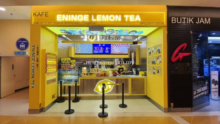 Eninge Lemon Tea, Sunway Pyramid