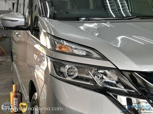 Nissan Serena is now officially protected with Nano Ceramic Protect Coating.