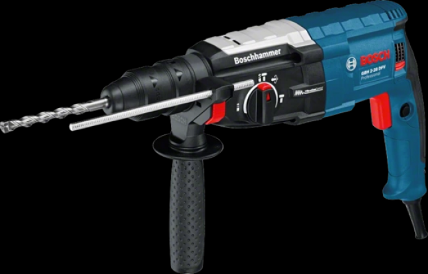 BOSCH Rotary Hammer with SDS plus GBH 2-28 DFV Professional
