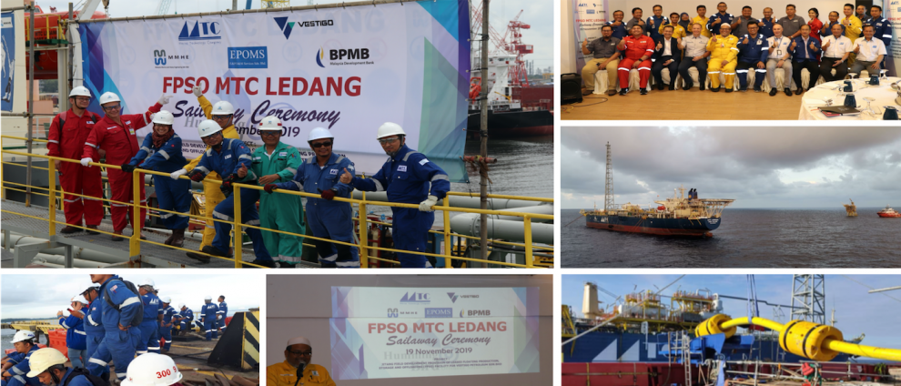 FPSO MTC Ledang Sailed and Safely Arrived At Jitang Field