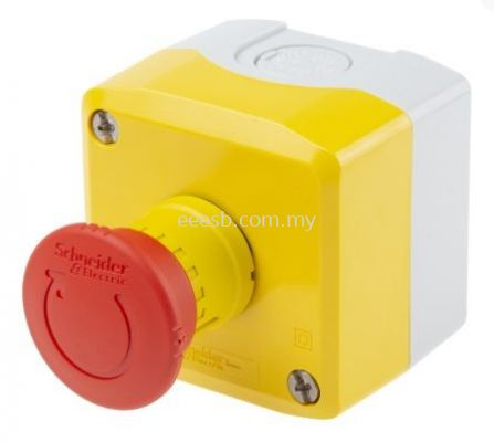 Mushroon Head Emergency Stop Button With Reset