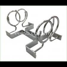 1 Pair 2 Tel Vertical Wall Mounting Ring