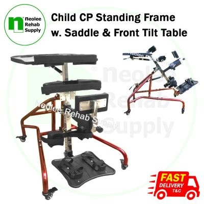 NL-KY991 Child CP Standing Frame w Saddle & Front Tilt Table