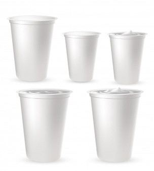 Hot/Cold Beverage Cup With/Without Lid