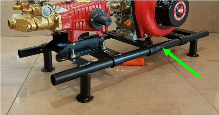 Heavy Duty Plunger Pump Frame Only ID31459