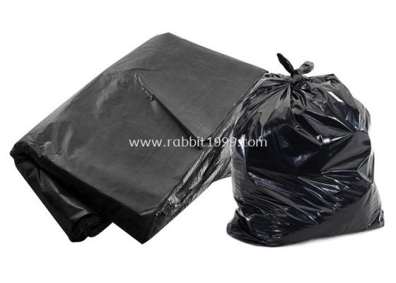 "PLASTIC BAG - 32"" x 40"" - black"