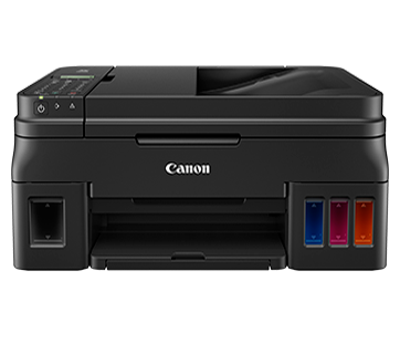 PIXMA G4010 Canon Refillable Ink Tank Wireless All-In-One with Fax for High Volume Printing