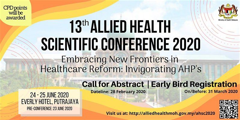 13th Allied Health Scientific Conference 2020