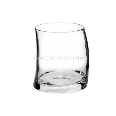 Pasabahce Penguen Whisky Glass Set, 370ml, Set of 6, Clear