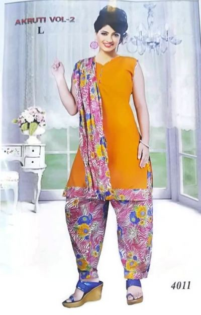C0TT0N PRINTED PATTIYALA SUIT