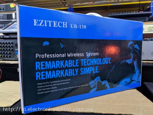 EZITECH UR-138 WIRELESS MIC