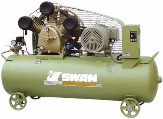 SWU-310N Swan Air Compressor 8Bar, 10Hp, 850rpm, 872/min, 250kg