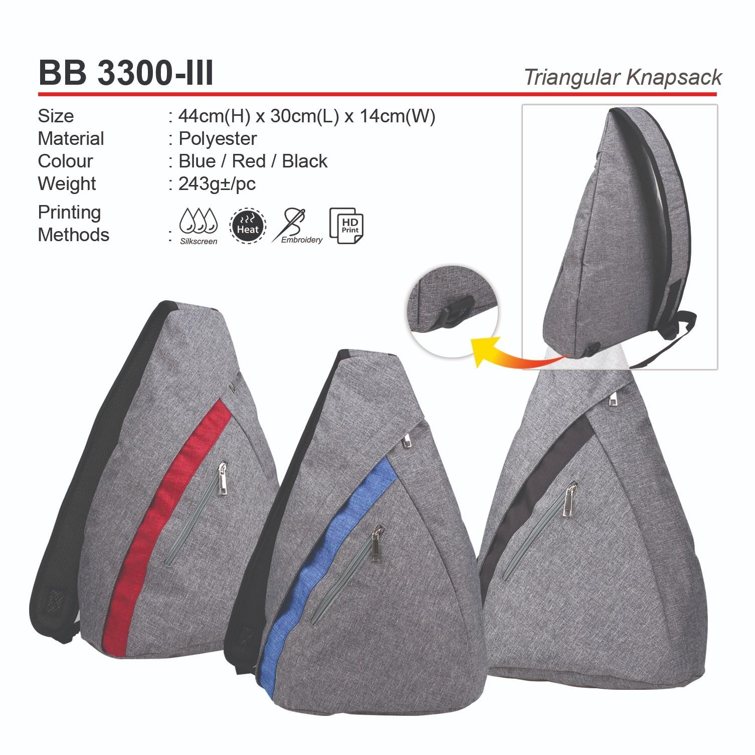 BB3300-III Triangular Knapsack