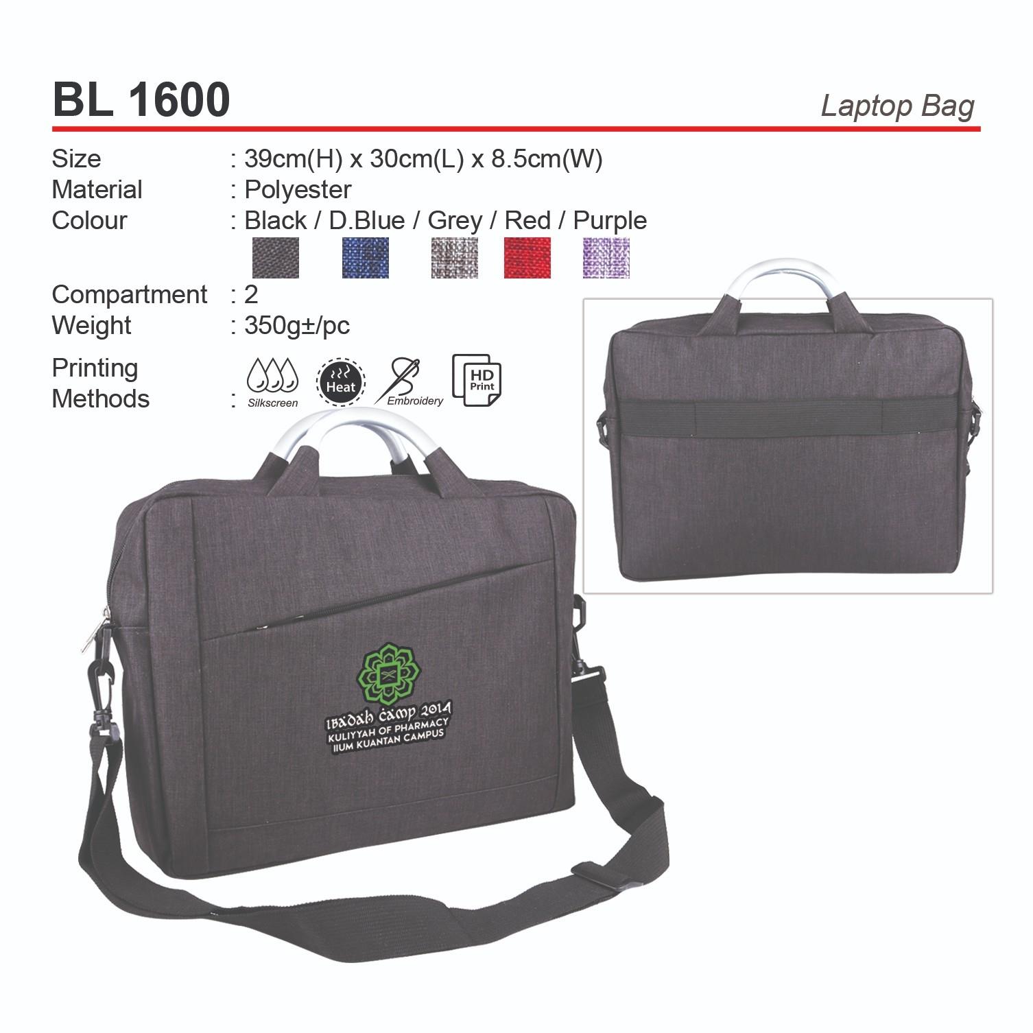 BL1600 Laptop Bag