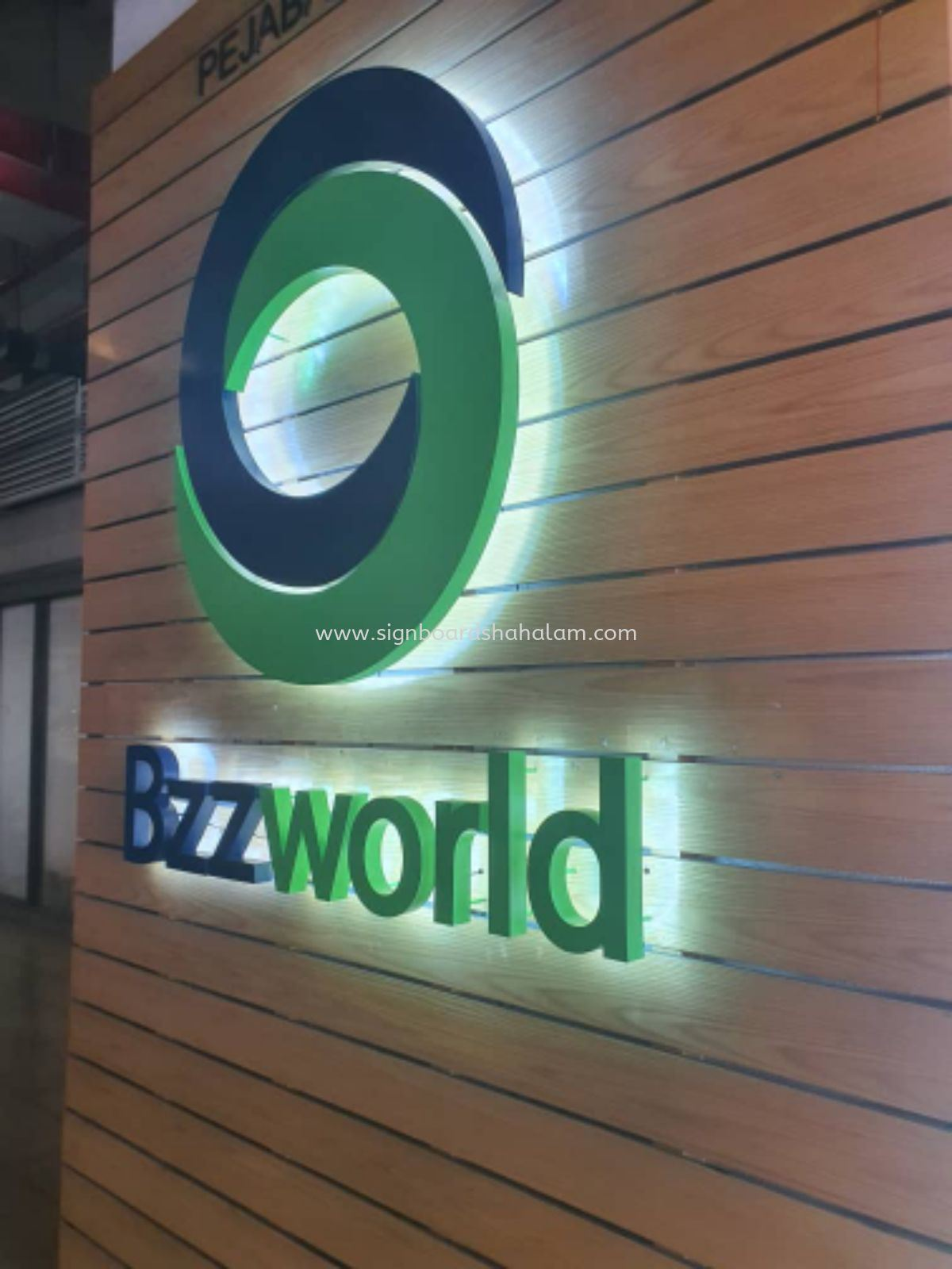 Bzzworld Signage, 3D Box Up LED Backlit Signboard Kuchai Lama, KL