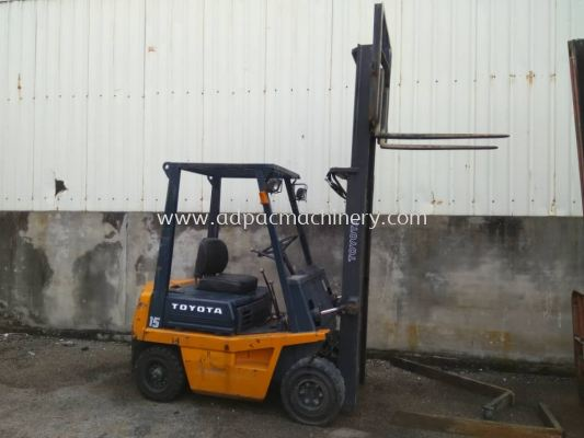 1.5 Ton Used Toyota Forklift