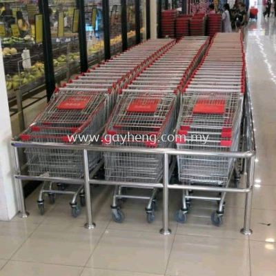 Stainless Steel Guardrail for Trolley �׸��Ƴ�Χ��