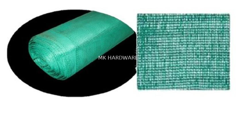 GREEN PLASTIC NET