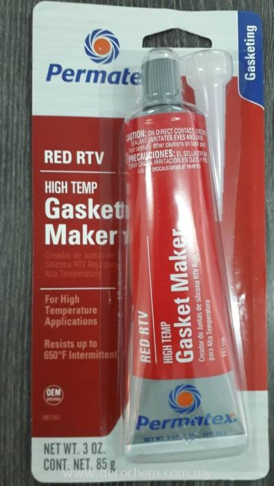 Permatex® High-Temp Red RTV Silicone Gasket Maker