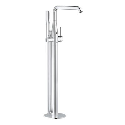 "Grohe Essence 23491001 Single Lever Bath Mixer 1/2"", Floor Mounted"