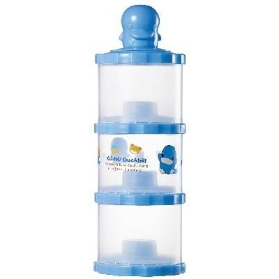 KUKU DUCKBILL The Intelligent Three-layer Milk Powder Can - BLUE (KU5430)