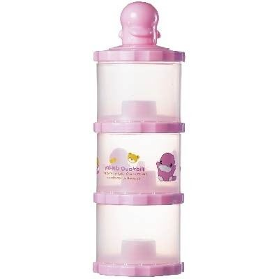 KUKU DUCKBILL The Intelligent Three-layer Milk Powder Can - PINK (KU5430)