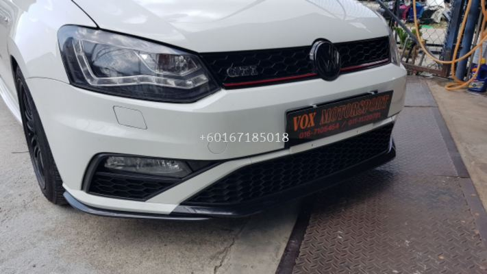 volkswagen polo front bumper gti Style new set pp material