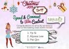 Christmas Joy Spend & Comment to Win Contest �C Winner Announcement
