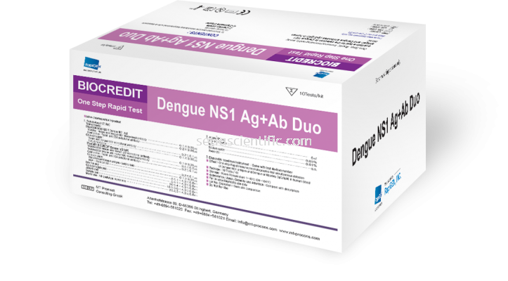 Dengue NS1 Ag + Ab Duo