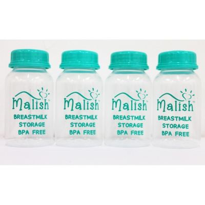 MALISH STORAGE BOTTLES 4PCS (ML0687)