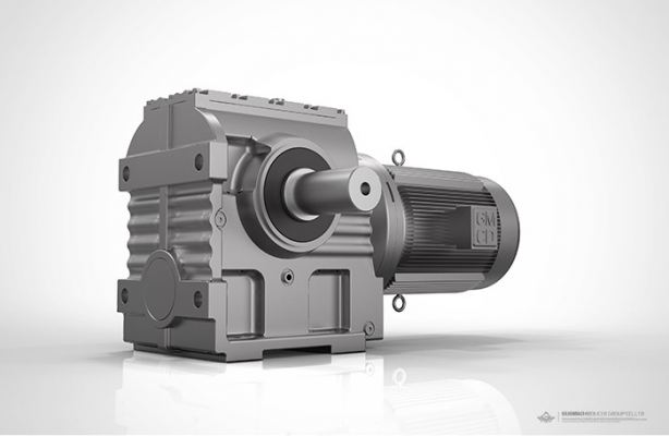 GS SERIES HELICAL-WORM GEARMOTOR