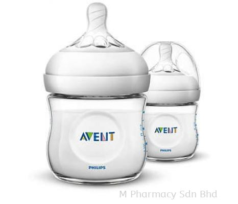 Philips Avent Natural Bottle 0M+ (2X125ML)