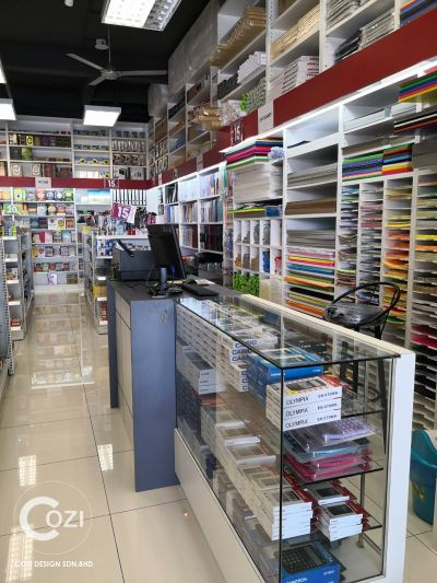bookshop design, alor setar