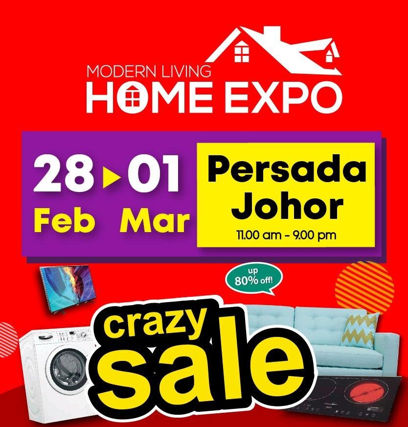 Modern Living Home Expo @PERSADA, 28 Feb - 1 Mar 2020
