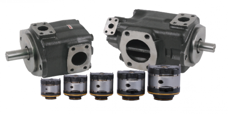Fixed Displacement Vane Pump HV & HVQ Series
