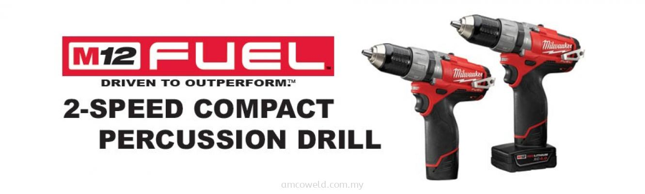 M12 FUEL™ 2-SPEED COMPACT PERCUSSION DRILL