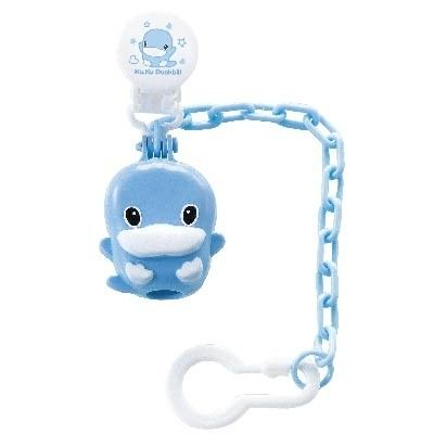 KUKU DUCKBILL PACIFIER CHAIN & CASE BLUE (KU5331)